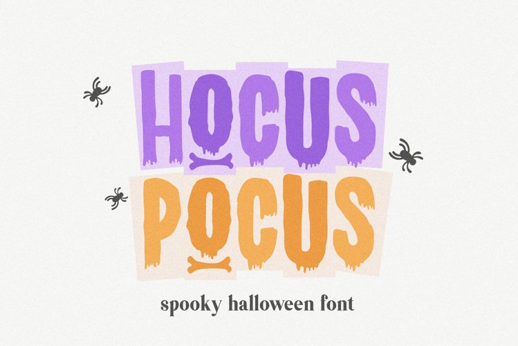 Hocus Pocus a Halloween Font for Crafters example image 1