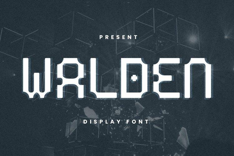 Web Font Walden Font example image 1