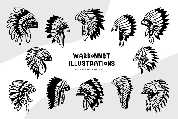 Warbonnet Illustrations example image 1