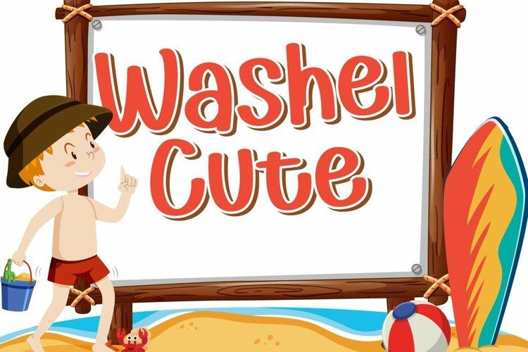 Washel Cute example image 1
