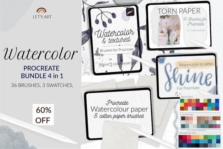 Watercolor Procreate bundle