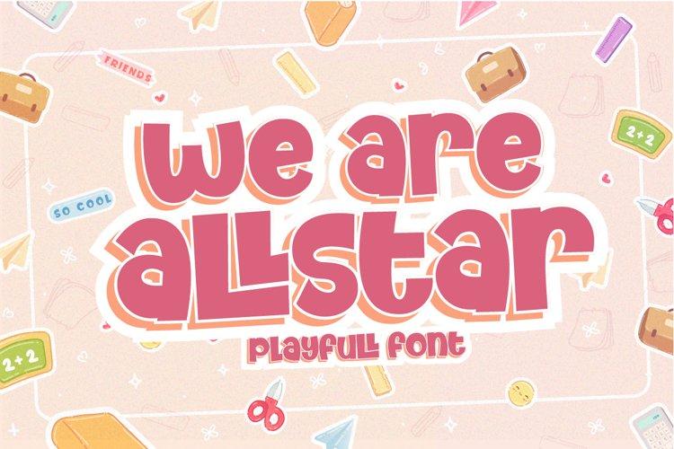 We Are Allstar