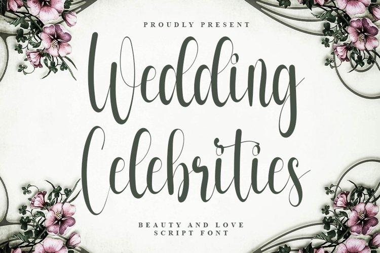 Wedding Celebrities - Beautiful Script Font example image 1