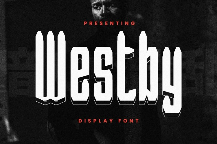 Web Font Westby example image 1