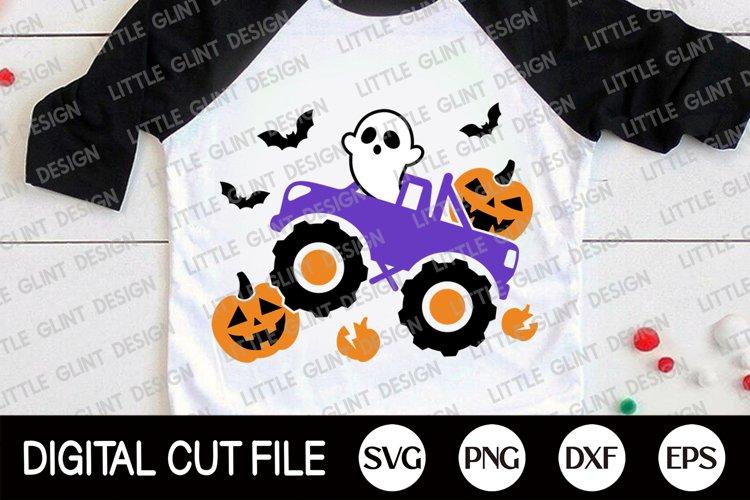 Halloween SVG, Halloween Pumpkin Truck, Halloween Shirt SVG