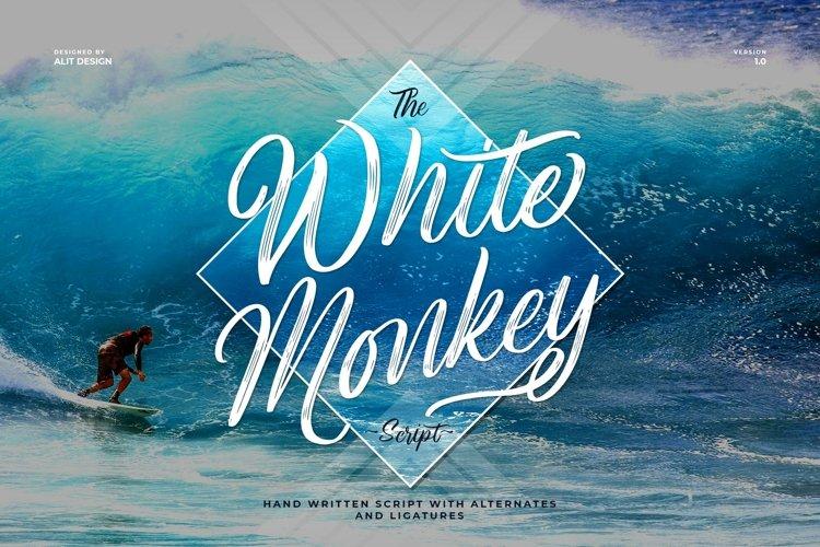 White Monkey example image 1