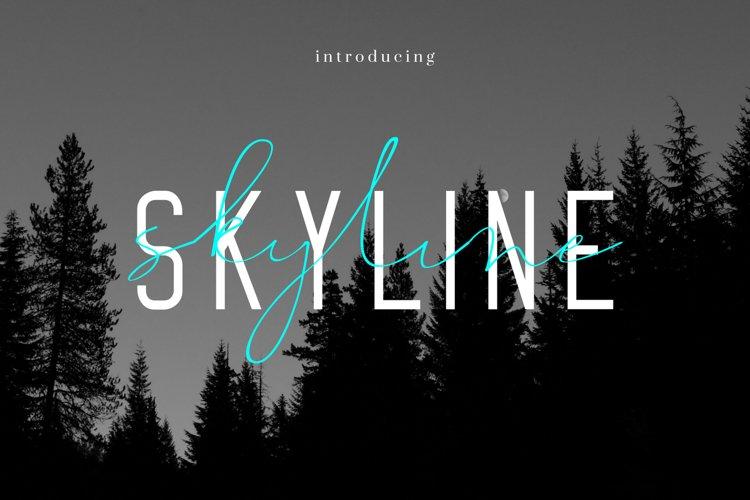 SKYLINE duo example image 1