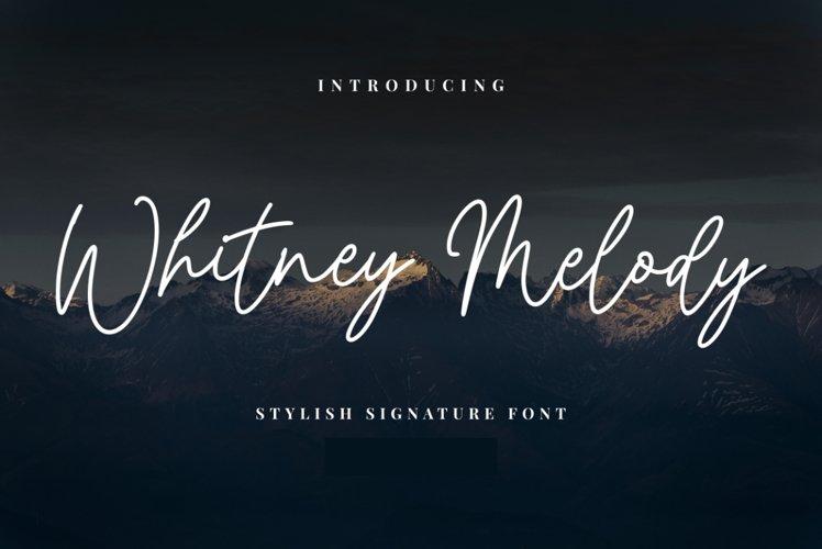 Whitney Melody example image 1