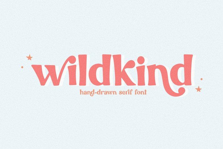 Wildkind - A Hand-Drawn Serif Font