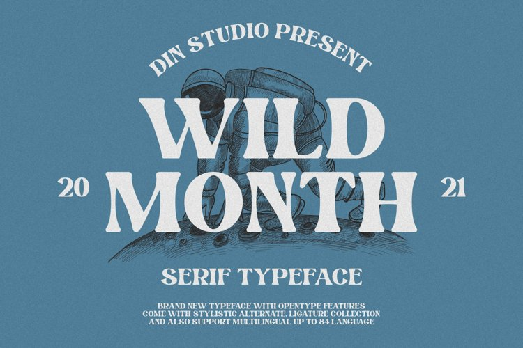 Wild Month-Serif Font example image 1