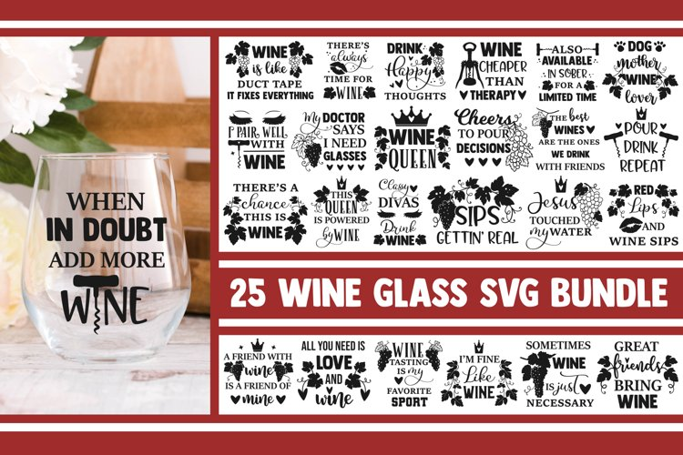 Wine glass SVG Bundle, wine svg, svg designs, svg quotes,png