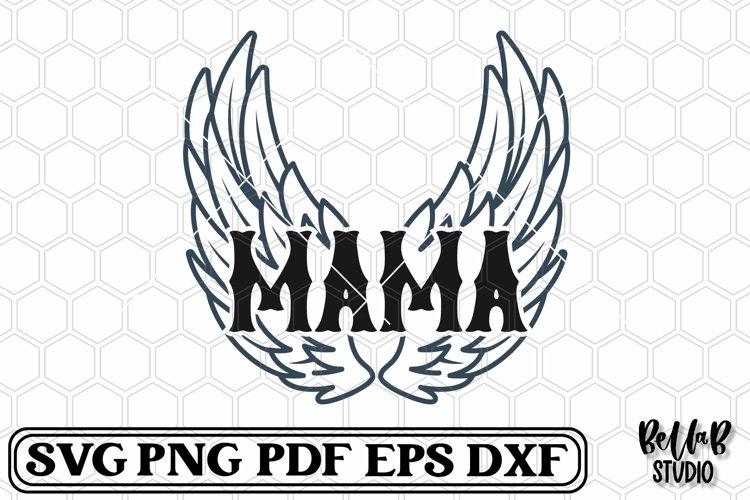 Rock Wings Mama SVG File