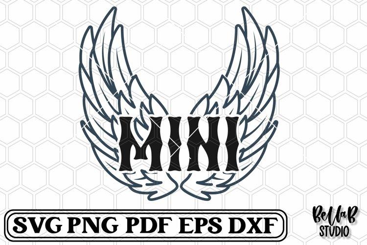 Rock Wings Mini SVG File