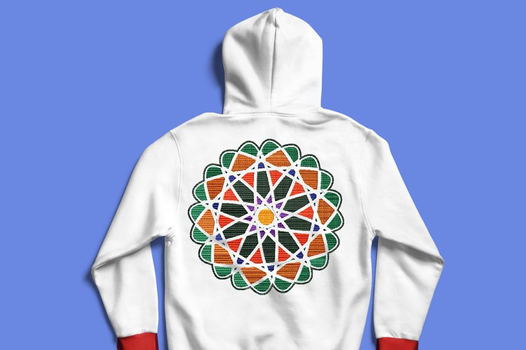 Winter Mandala Embroidery example image 1