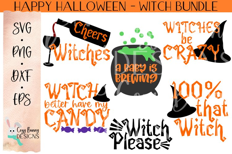 Witch Bundle - Halloween SVG example image 1