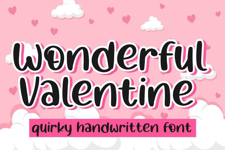 Wonderful valentine example image 1