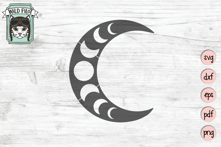 Moon Phases SVG, Just A Phase SVG, Moon SVG, Mystical SVG