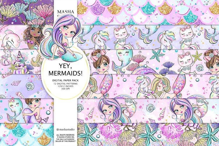 Mermaid Patterns