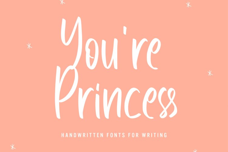 Youre Princess - Handwritten Font