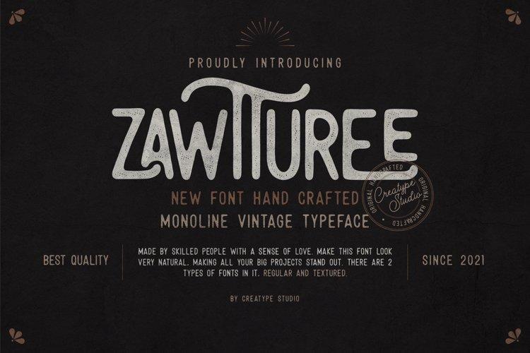 Zawturee Monoline Vintage example image 1