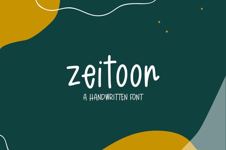 Zeitoon Sans example image 1
