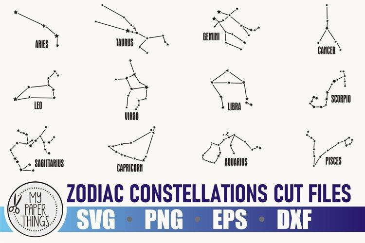 Zodiac constellation svg bundle   Birthday svg   Zodiac sign